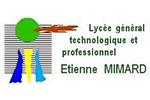 logo lycée général technologique et professionnel etienne minard